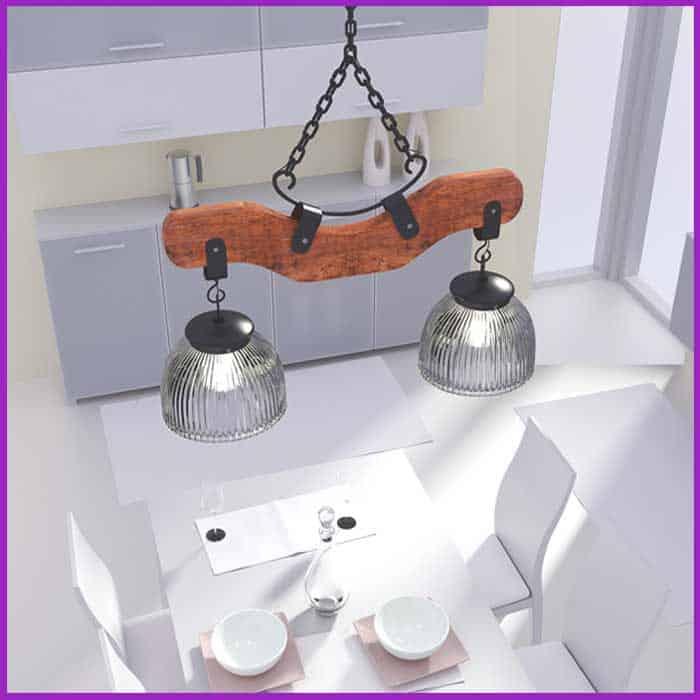 Modelado 3D de lámpara